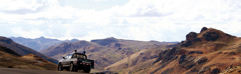 Panamericana durch die Anden